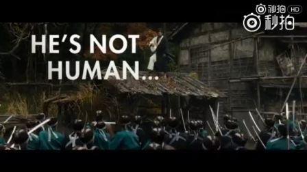 【《无限之住人》戛纳展映曝首支英文预告】由三池崇史执导、木村拓哉主演的《无限之住人》曝光首支英文预告。本片作为非竞赛单元影片已在戛纳展映。以日本江户时代为背景,