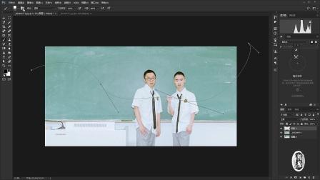 【阿葱学堂】第九期 为照片添加涂鸦效果