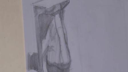 qq素描头像女生_从零开始素描入门