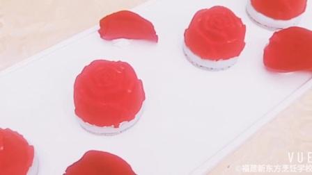 福建新东方西点学校的法式甜点展示