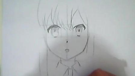 【春君教程】--如何画动漫人物的脸和头