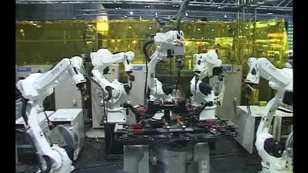 安川多机器人协调工作