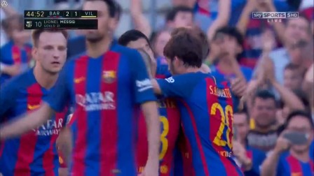 Lionel Messi Goal - Barcelona vs Villarreal 2-1 - 06 May 2017