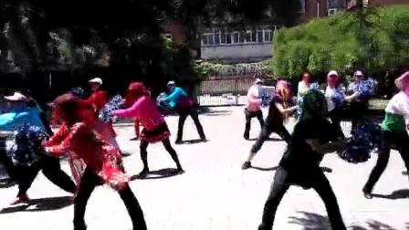 幸福花园阿拉伯美女排练