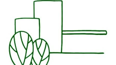 幼儿简笔画     大高楼   幼教联盟—欧阳老师