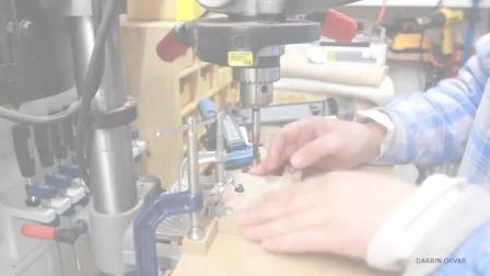 【木工DIY】桌面小零件收纳抽屉