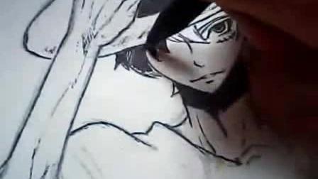 动漫人物画--2