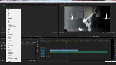 自学premiere视频剪辑简单流程预览pr抠像教程