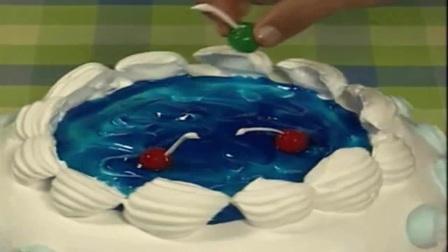 水果生日蛋糕裱花 生日蛋糕学习