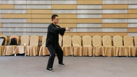 杨大卫杨式太极拳85式第一段口令版