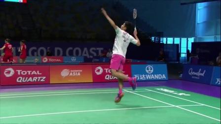 2017年苏迪曼杯 Badminton Day 4 Grp 1B-韩国 vs 中国台湾 – Highlights [Full HD 1080p]