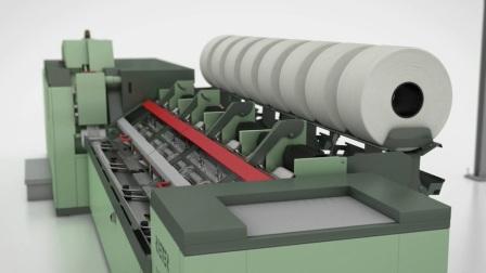 立达精梳 - 精梳系统配台的最高产能