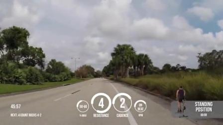 MYZONE虚拟实景单车场景展示