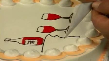 生日蛋糕玫瑰花的做法