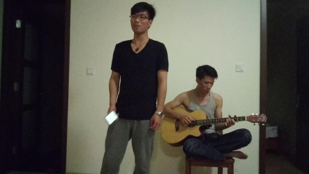 吉他弹唱-红玫瑰-陈奕迅-Troy&Romi