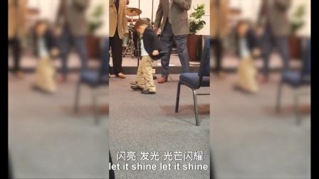 中文Singing  This Little Light of Mine