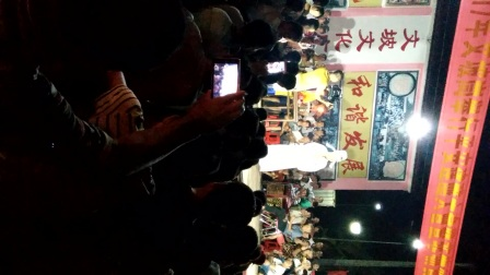 海南军坡文化节之定安岭口文坡峝主平安醮会5