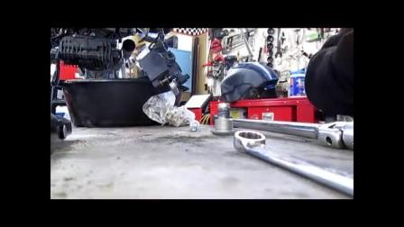 BMW Service - GS1200传动轴的清洗和安装