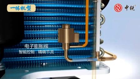 【中锐】空气能热水器工作原理|空气源热泵热水器原理图解www.zrkqy.com