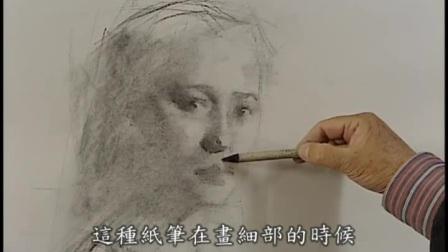 人体素描教程_素描头像五官_冷军油画作品