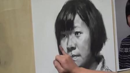 玉雕素描基础入门_素描女生头像_素描几何