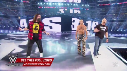 wrestlemania 26 Stone Cold HBK and Mick Foley make a surprise appearance- WrestleMania 32