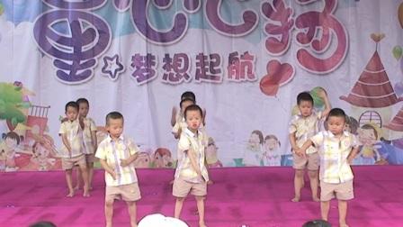 乐鑫幼儿园大班舞蹈《动起来》