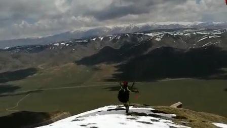 20170526滑翔伞青海共和瓦里关山飞行