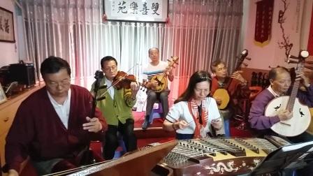 广东音乐,双凤朝阳,双喜乐苑演奏,摄影英子