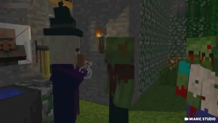 我的世界搞笑动画片第五弹,僵尸药水