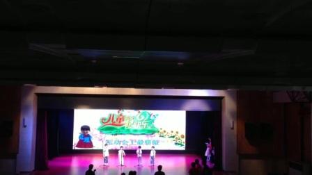 陕西省商业幼儿园小一班三句半《赞商幼》排练
