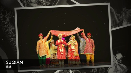 Dance Performances during India Culture Week at Suqian