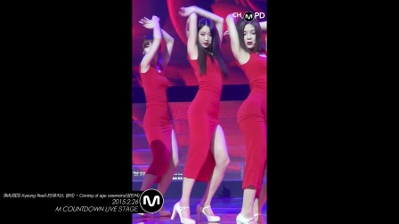 Coming of age ceremony 9MUSES Kyeong Ree Fancam Mnet MCO_Full-HD_60fps
