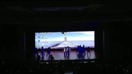 陕西省商业幼儿园中一班情景舞蹈《森林故事》排练现场 (1)