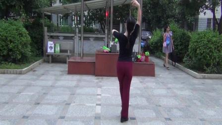米米习舞·张惠萍老师舞蹈《又见北风吹》(背面)