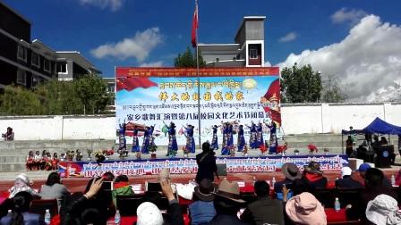 日喀则市上海实验学校小学部女教师舞蹈