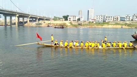 江西-鄱阳县-湖城大桥—龙舟大赛