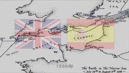 英国打败西班牙无敌舰队