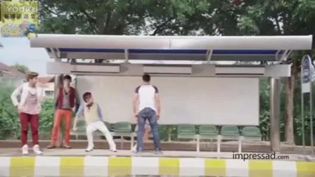 泰国创意广告——红牛