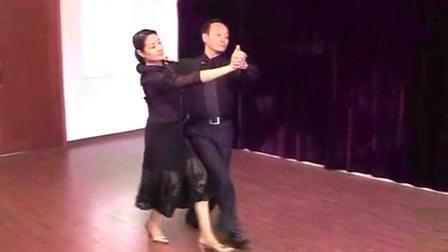 中国经典精美音乐欣赏之大众交谊舞慢三基本步教学