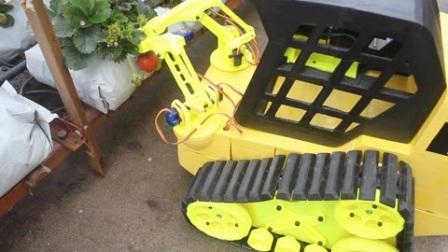 机器人家:机器人摘草莓,这家伙真有用?!