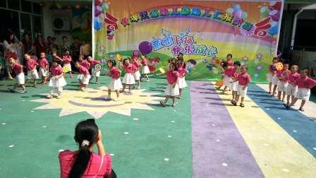 中班歌舞表演《超级棒棒糖》