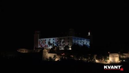 Videoprojection - EU Presidency celebration, Bratislava 2016