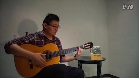 弗拉门戈中国吉他教学视频 -第13期 Falseta por Tango