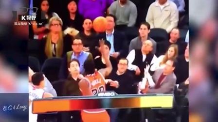 [K分享] 没品球迷不断在场边耻笑篮球员,结果报应马上来 (中文字幕)