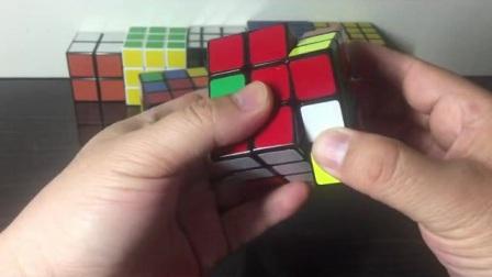 三阶魔方缺角层先法详细教程1-2还原底层三个角块