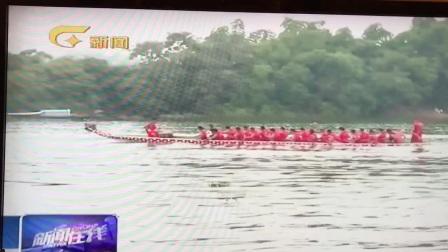 广西南宁市西乡塘区下楞村龙舟比赛