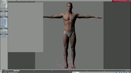 照片级男性人体建模教程 ZBrush