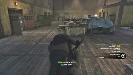 PS4 狙击精英4 真实难度 潜行攻略解说-4