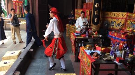 湖州城隍庙祈福周飞
